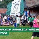 Image for the Tweet beginning: Über 300 #Werder-Fans und 18