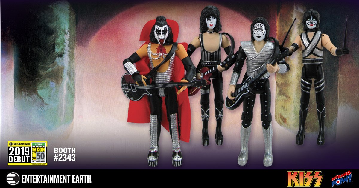 It's NOT the #EndOfTheRoad for collectors, because we're rocking @Comic_Con with an all-new Convention Exclusive! The limited edition set comes numbered with a holographic sticker. Bring the entire band into your home for a command performance!  http:// eearth.us/?l=vmndw3     <br>http://pic.twitter.com/q9BoMa7wA1