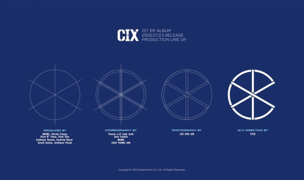 CIX reveals production line up teaser for their first EP album + Bazzi listed as one of the producers allkpop.com/article/2019/0…