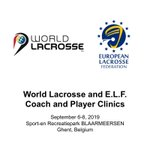 Image for the Tweet beginning: World Lacrosse collaborating with @EuropeLacrosse