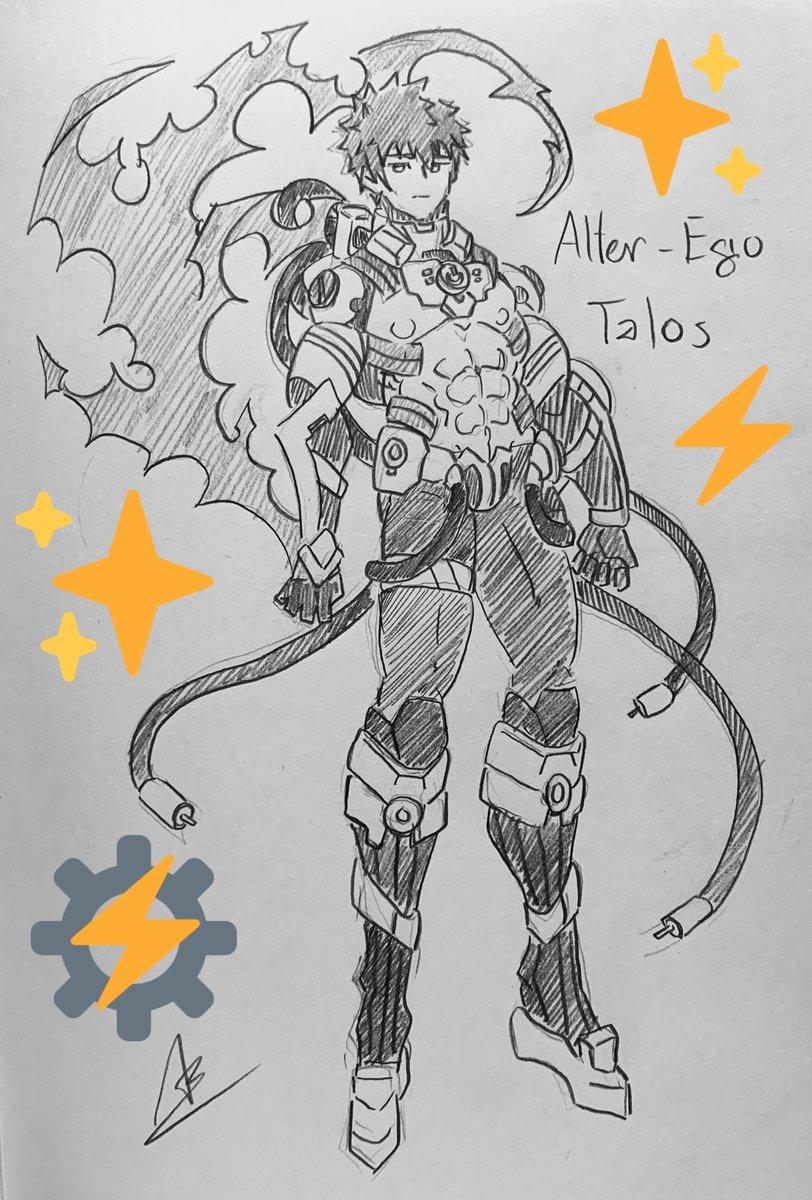 [Greek Alter-Ego] True Name: Talos AKA: Cyber-Golem  Class-Skill - Crack Ice/ Blood Fort Andromeda: B - Emotion Bind: B+ - Deus Ex Machina: EX  Self-Skill - Synthetic Limbs : A+ - Frozen Heart: B - Ahab Reactors: EX  [NP] > Noble Phantasm: Infinity Death Crest: A+ <br>http://pic.twitter.com/dqWbksujyM