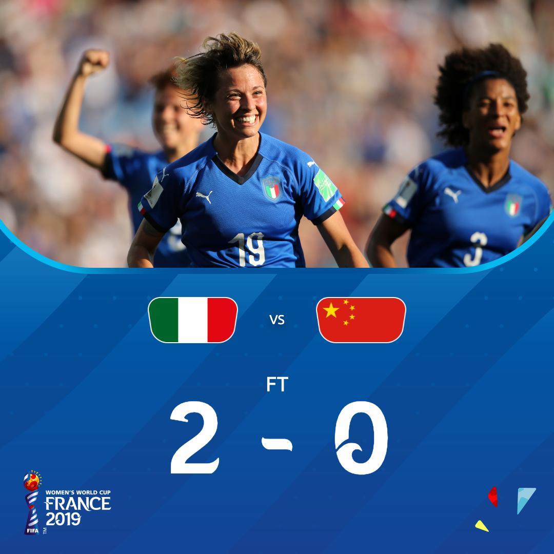 L'Italie qualifiée pour les quarts de finale du Mondial féminin