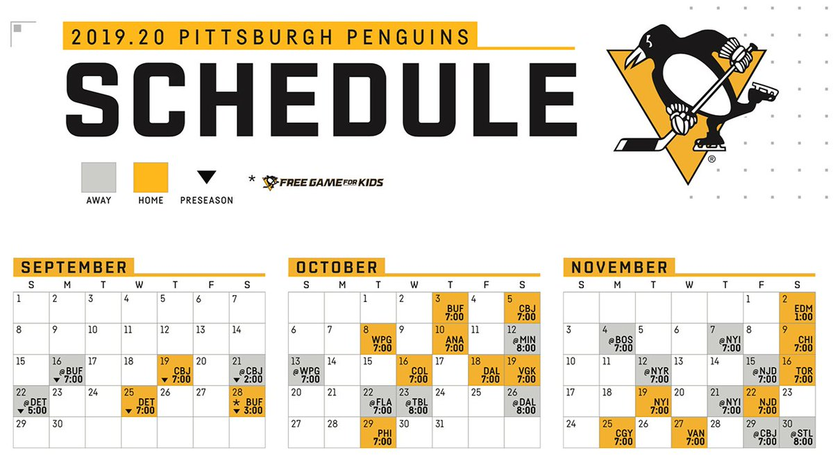 photograph regarding Pittsburgh Penguins Printable Schedule called Pittsburgh Penguins upon Twitter: \