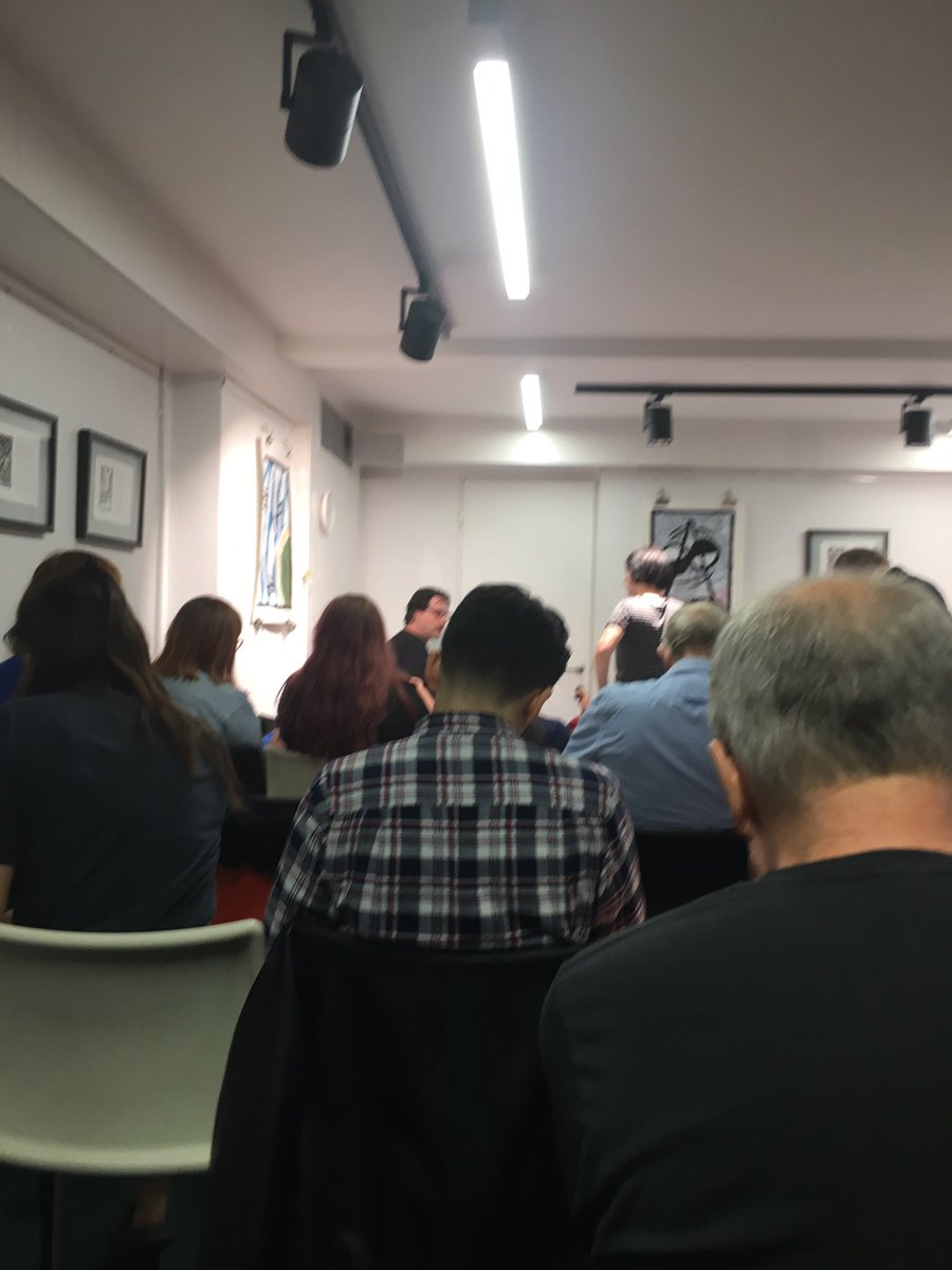 test Twitter Media - RT @Mudfishblog: Back at the Poetry Caff 🎉🎉🎉 wooo @PoetrySociety https://t.co/UI3ca3GCGE