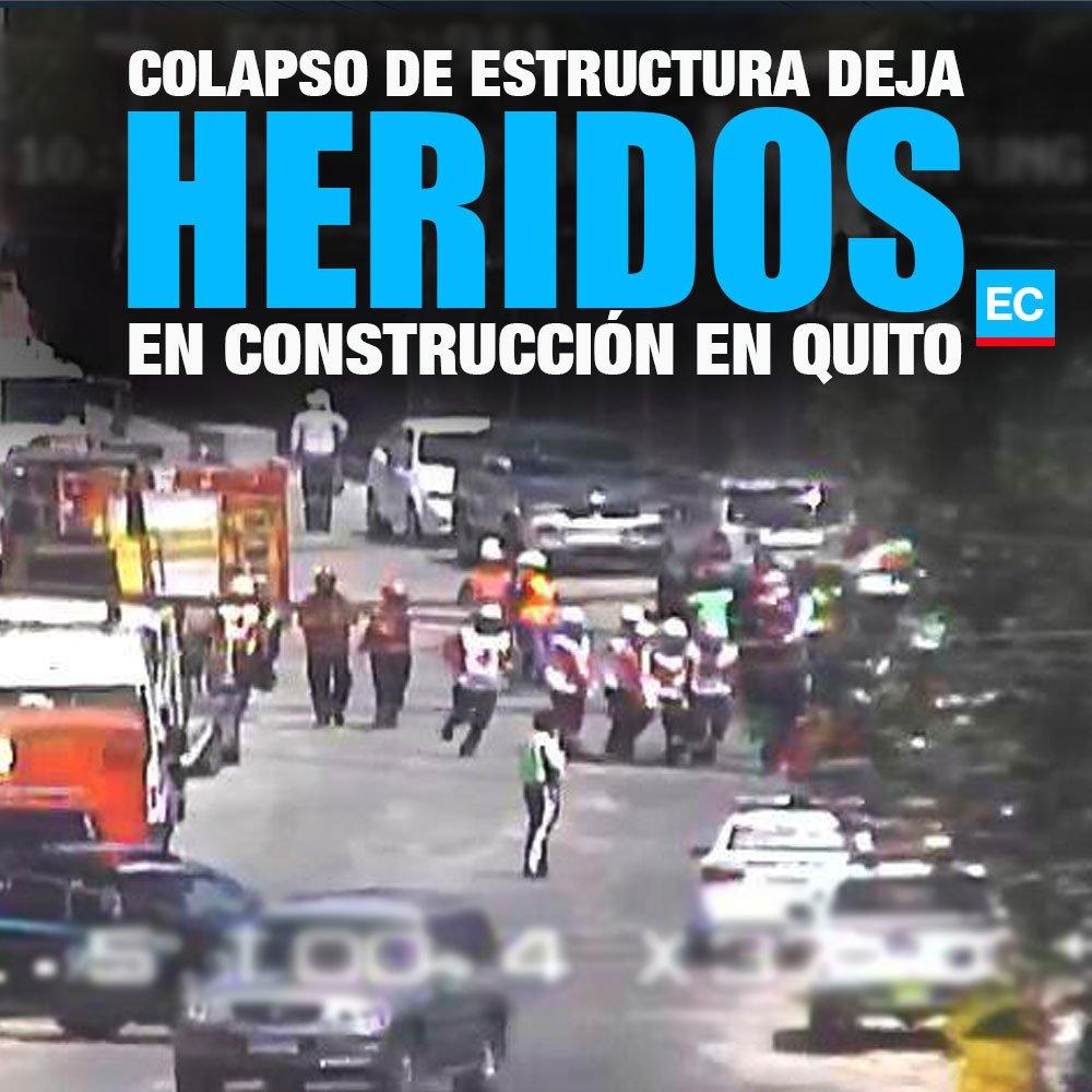 El Comercio S Tweet Quito Cuerpos De Emergencia