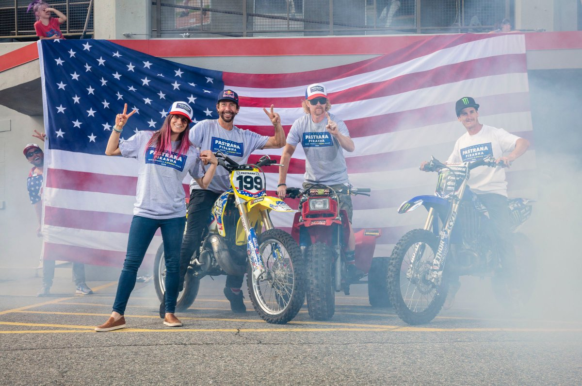 Join the campaign to nowhere! We're looking for those who mix gas and kick ass. Let's make America 2-stroke again! Shop at: http://bit.ly/TP2020 #NitroCircus #makeamerica2strokeagain #pastranapiranha2020pic.twitter.com/zB8HjSKs4L