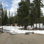 Image for the Tweet beginning: Summit Lake Campgrounds will open