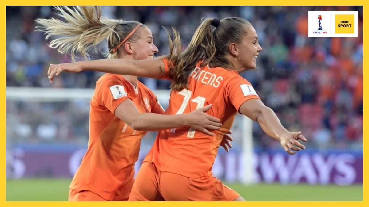 Lieke Martens held her nerve to slot home a late penalty to send the Netherlands into the quarter finals of the #FIFAWWC at the expense of Japan. More: https://bbc.in/2Nek2J9