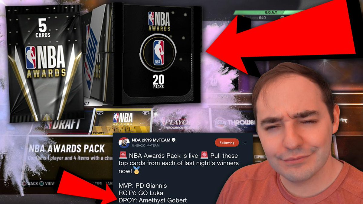 DO NOT OPEN THESE PACKS! RETWEET & LIKE IF YOU AGREE THIS WAS LAZY WORK HERE INSTEAD OF CREATING NEW CARDS FOR THE AWARD WINNERS!!! https://www.youtube.com/watch?v=B_VOs5nWgvs…