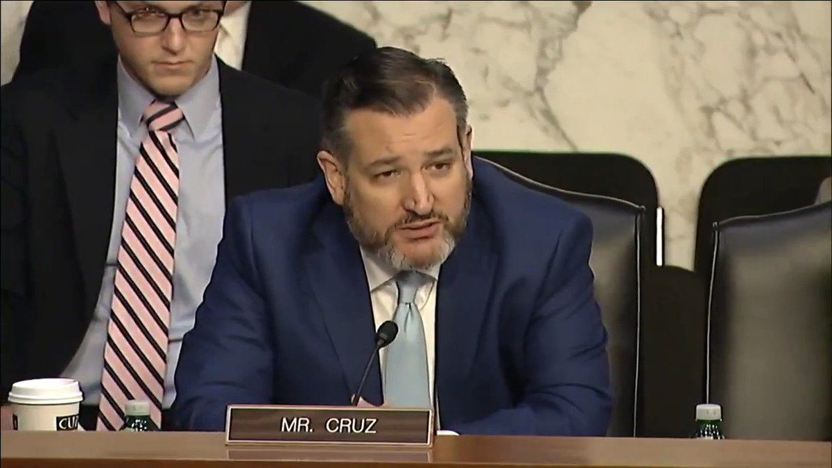 .@SenTedCruz asks Google rep Maggie Stanphill at hearing whether the company considers itself a neutral public forum following most recent @Project_Veritas investigation. He also adds that the reports raise very serious concerns about political bias at the company.