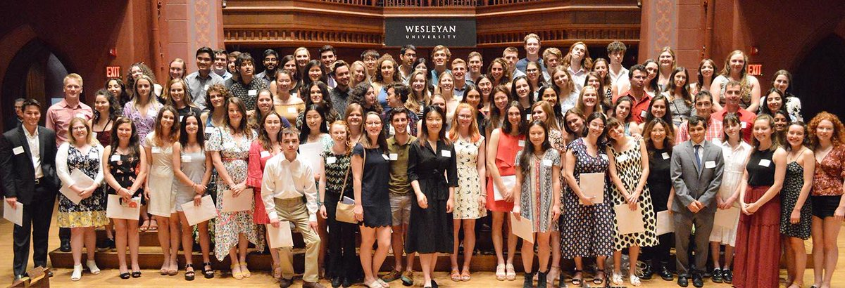 test Twitter Media - Meet the Spring 2019 inductees into Wesleyan's Gamma Chapter of Phi Beta Kappa Society, the oldest national scholastic honor society! #Wes2019: https://t.co/lmxsCcMIOT https://t.co/LIPrvFGNeu