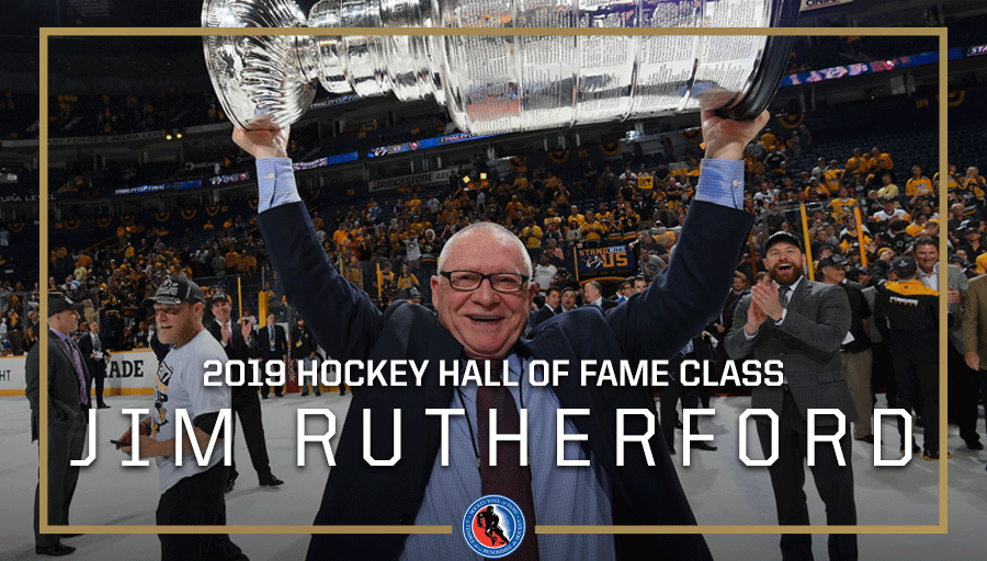 Congratulations to the @HockeyHallFame Class of 2019! 👏 #HHOF2019