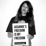 """Assange's freedom is my freedom""--M.I.A. @MIAuniverse  https://t.co/U30tPNd0Tg #WeAreMillions #FreeAssange"