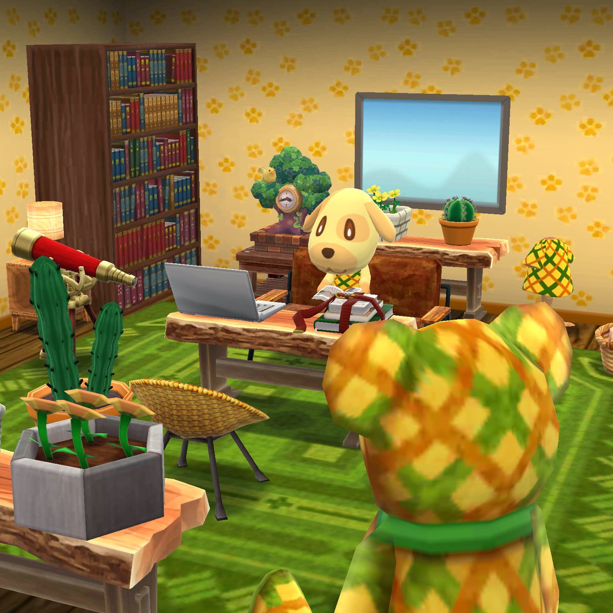 #GoldiesRoom Goldie loves to read as much as I do, so I had to design her room with lots of books!  <br>http://pic.twitter.com/NRks56stbu