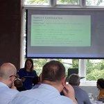 Image for the Tweet beginning: Kerry #Lancashire #digitalskillspartnership coordinator outlining