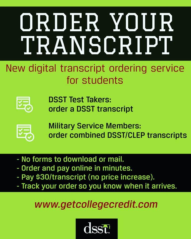 DSST Credit-by-Exam Program (@GetCollegeCred) | Twitter