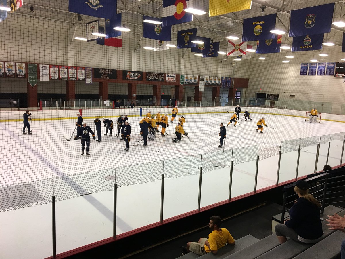 #Preds Rookie Development Camp is underway. Some of them look...very young.