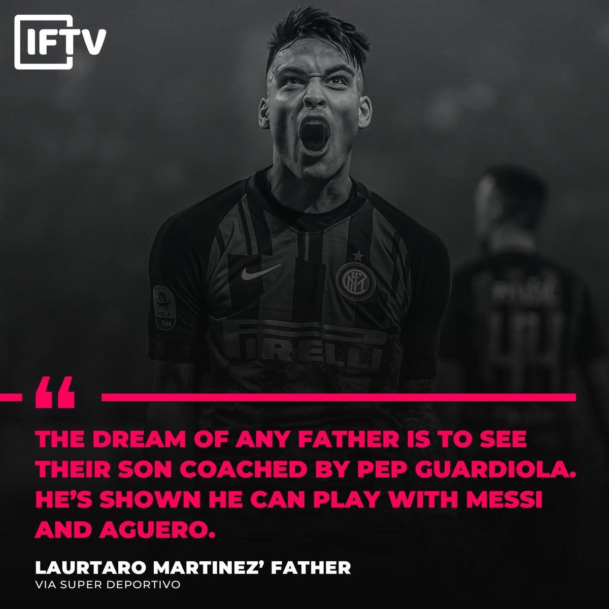 Martinez's dad has a dream ✨💫