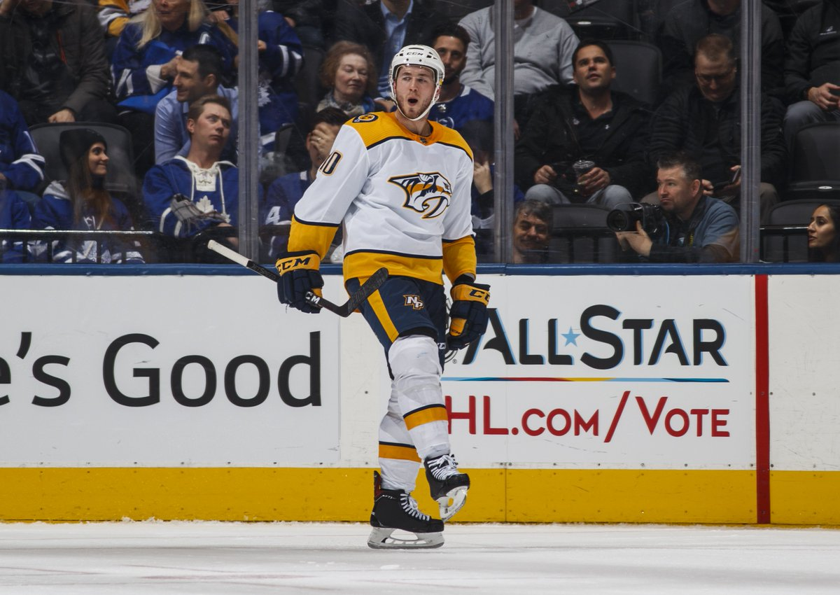 The #Preds have extended qualifying offers to RFAs Colton Sissons and Rocco Grimaldi. More: nhl.com/predators/team…