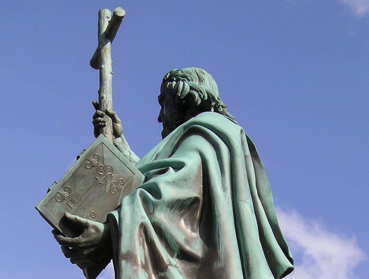 Saint Boniface's Day and D-Day: https://buff.ly/2X4aVis. #DDay75thAnniversary #DDay75 #DDay #History #FunFact #SaintBoniface #Germany #ChurchHistory #ChristianHistory #Europe #SaintBonifaceDay