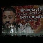 Image for the Tweet beginning: Hey @djkhaled plz get pizza