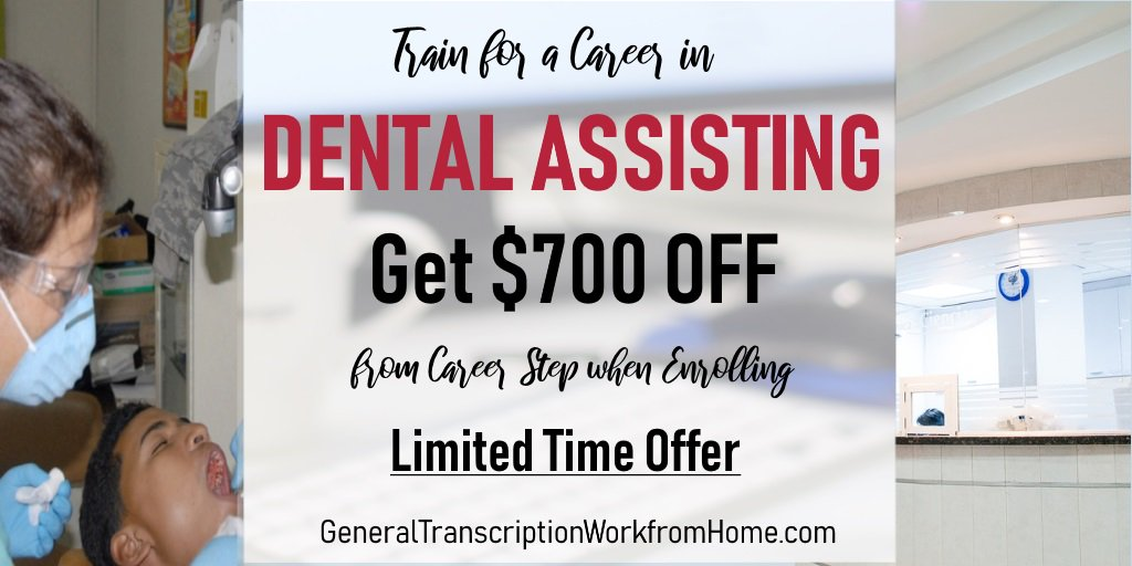 Get a Fulfilling Career as a Dental Assistant. Up to $700 OFF When Enrolling Ends by June 30 https://bit.ly/2TpiOcC  #dentalassistant #training #medical #careers #aff