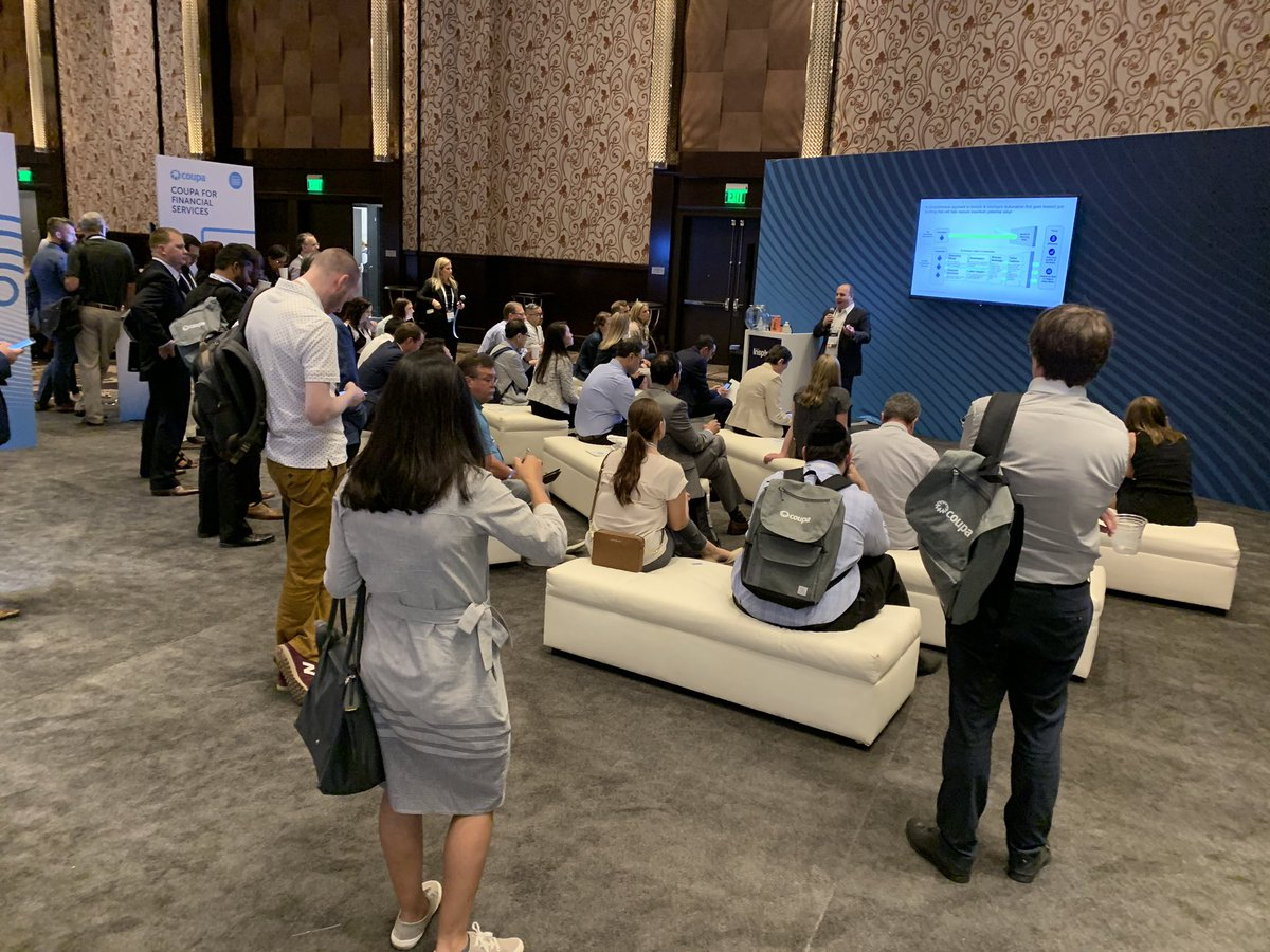 Cheers to a fantastic workshop led by the brilliant @joegudema of @Deloitte at the @Coupa #CoupaInspire conference in #vegas  . #CoupaInspire19 #CoupaInspire #Deloitte #training #procurement #sourcing #rpa #joegudema #automation #GetInspired #learn #networking #digitalworkforce