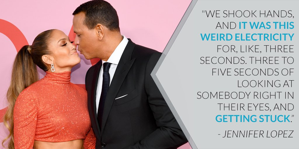Jennifer Lopez and Alex Rodriguez's first time meeting was electric from the start. https://eonli.ne/2IJ4uZw