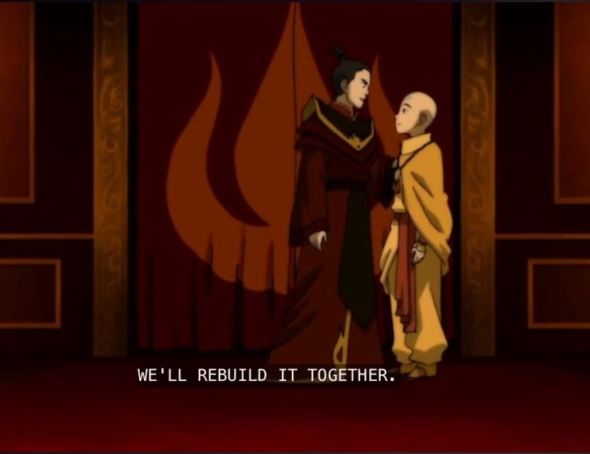Still the most satisfying ending ever. Game of Thrones wishes it could've had a season finale as epic as Avatar: The Last airbender. <br>http://pic.twitter.com/7KB3ciBsY7