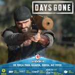 Image for the Tweet beginning: HOJE tem mais Days Gone