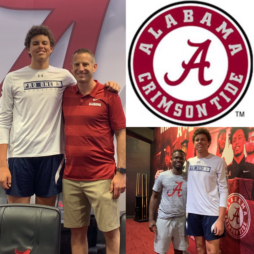 Congrats to 2022 Will Shaver, the 6'9 @omhsbasketball PF, on his offer from @AlabamaMBB  #UnleashChaos  #RespectTheBigMan #ShootersShoot #NextPlay #BeDifferent #P1 #ProOneBC<br>http://pic.twitter.com/Z9lomNusWH