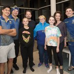 Image for the Tweet beginning: EELS PLAYERS SURPRISE FANS TO