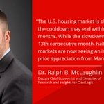 U.S. home prices grew by 3.5% in April 2019, marking the 13th consecutive month of slowing #home-price growth. But hope is not lost, as some signs signal the cooldown may not last. Learn more in this blog from @HousingRalph: https://t.co/bK2vmd7gdB