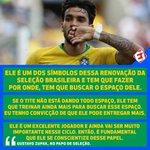 Image for the Tweet beginning: No #PapoDeSeleção desta terça (25),