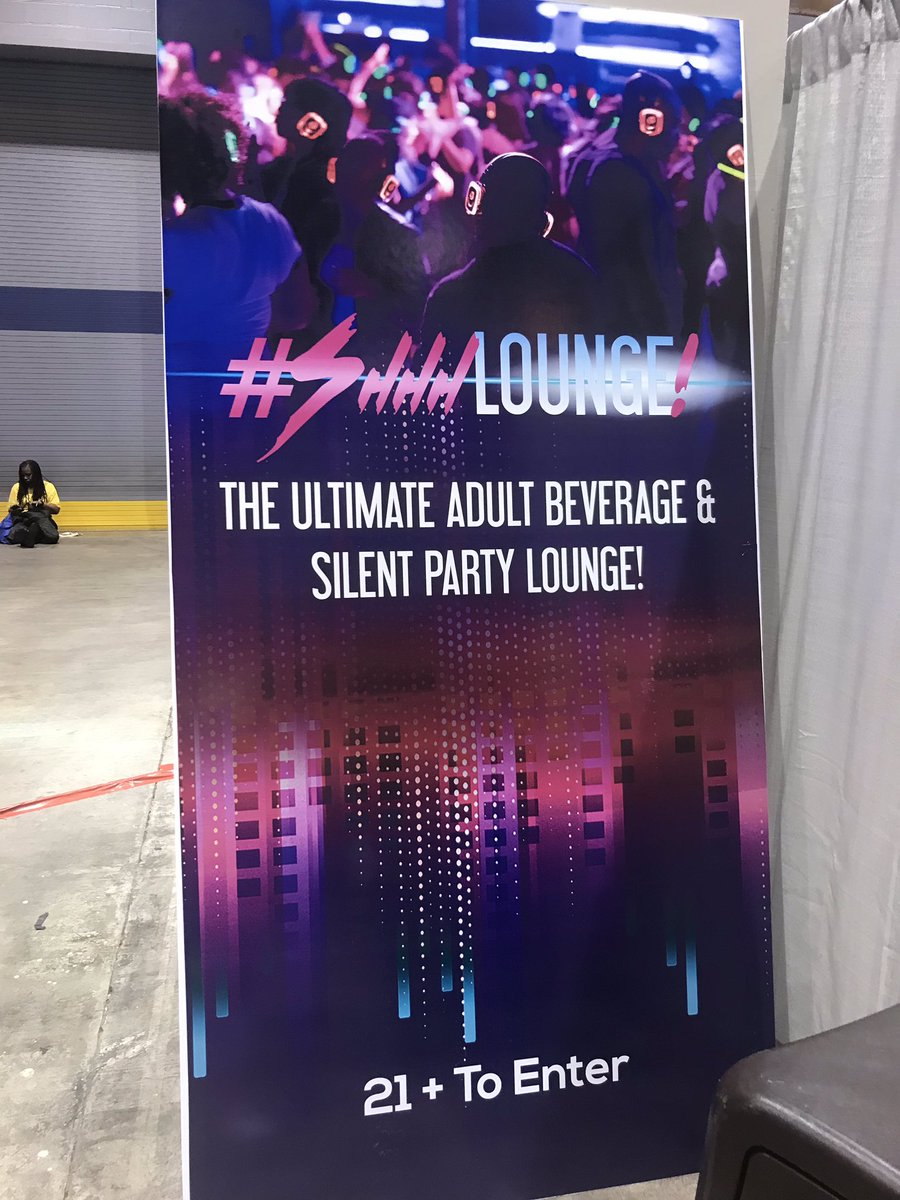 There was a party at the #Shhh Lounge during the @theblackwomensexpo_ in Chicago this year. The party is headed to Atlanta September 14-15.  We hope to see you there.  #bwe #shematters #shematters25 #blackwomensexpo #theblackwomensexpo #shhlounge #atlanta