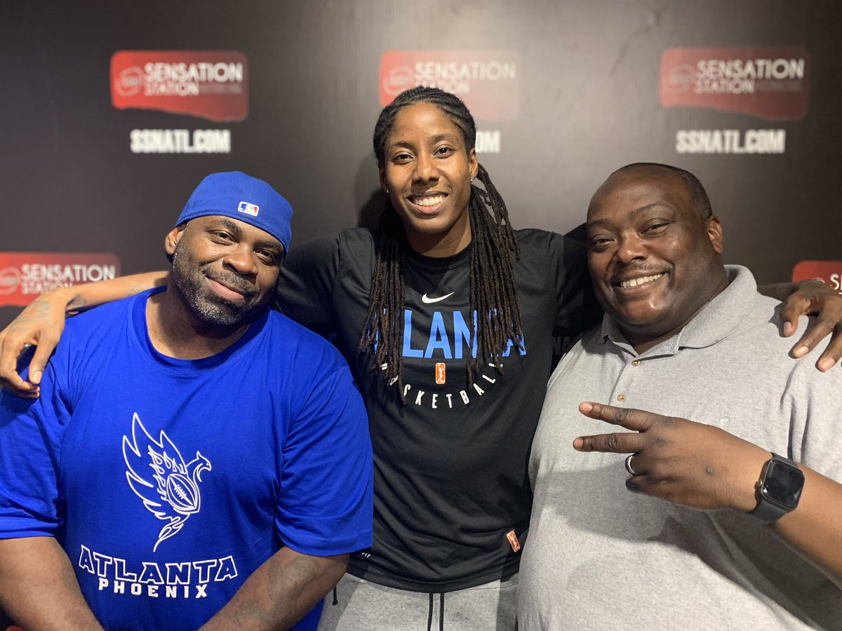 Thanks to @AtlantaDream forward Jessica Breeland for coming on the show to talk with us!#CrushingInterview