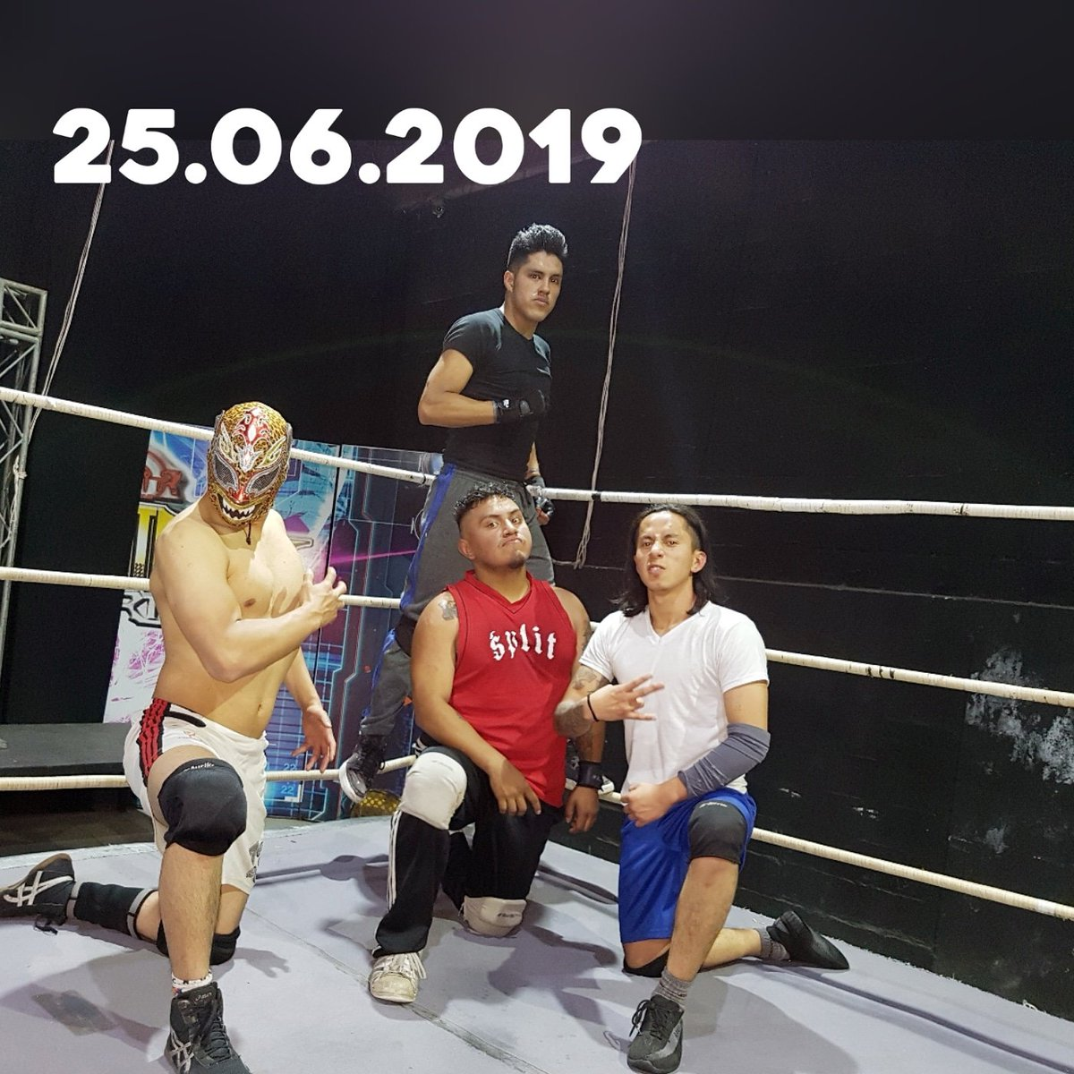 Tuesday finishing preparing for this 29 in the event of @reyesdelcachascanec  . . . . #reyesdelcachascan #wrestling #wrestler #lucha #luchalibre #SkyEspectaculoDeportivo #training💪 #passion #ring