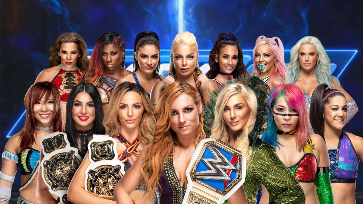 RT @ronnieguadawwe: Remember when #SDLive got the most stacked women's divison after the #Superstarshakeup? https://t.co/WCX5N86vLu