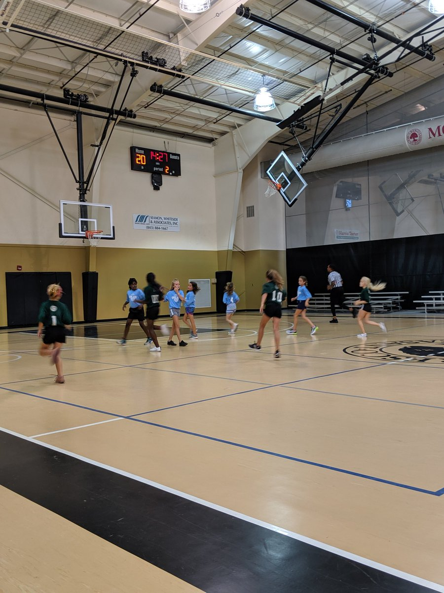Helping Coach 5th grade girls team tonight in summer rec ball. These girls scored 50 pts w/ 18 min running clock for both halves. Great job recruiting by Kristen Clark! One 5th grader scored 30 & could've had more but I asked team to pass 3 times before shot it in 2nd Half!