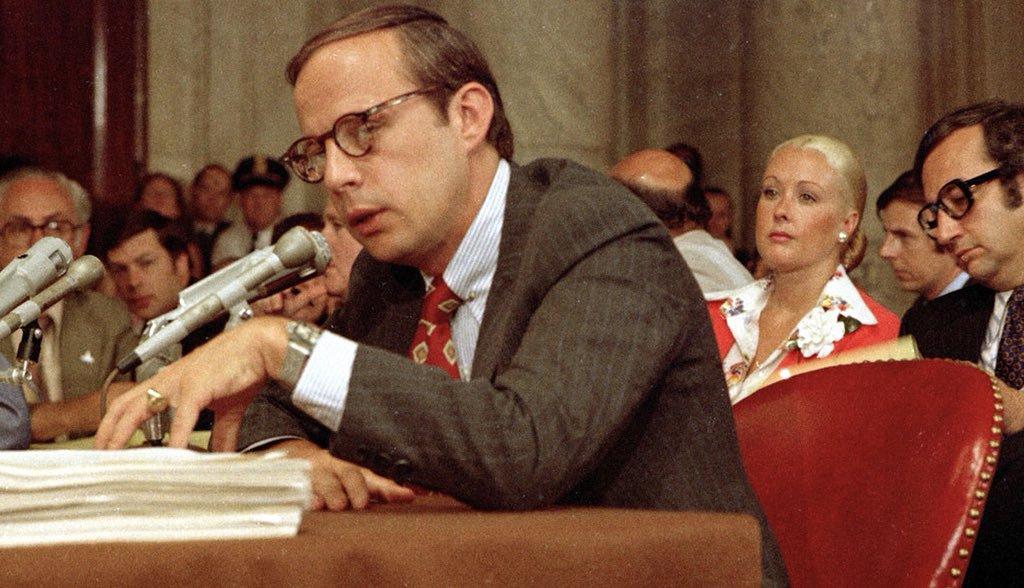 John Dean testified against President Nixon before Senate Watergate Committee this week 1973: <br>http://pic.twitter.com/qFnauLWHYe