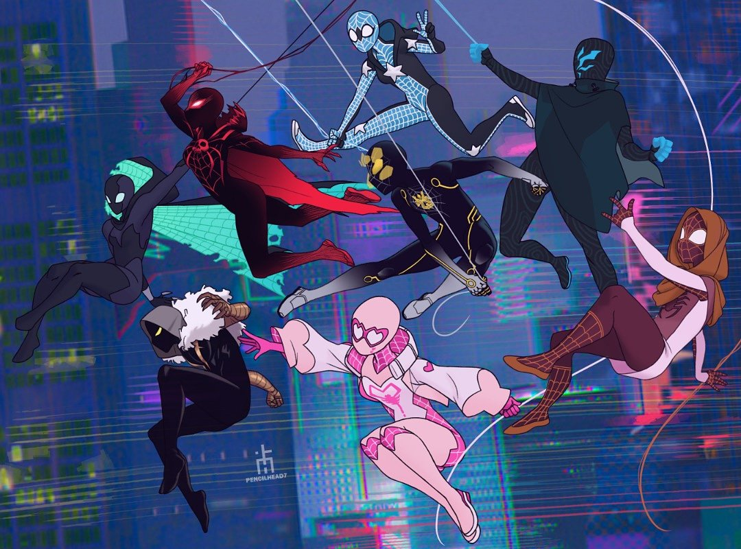 I spent hours on Pinterest looking at Spidersonas & I really wanna draw several of them. 2 are mine tho, Redback/Blood Spider and Tech-Weaver.    I hope the artists are okay with me drawing their Spidersona.  #spiderman  #spidersona<br>http://pic.twitter.com/4yOkZuW3HK