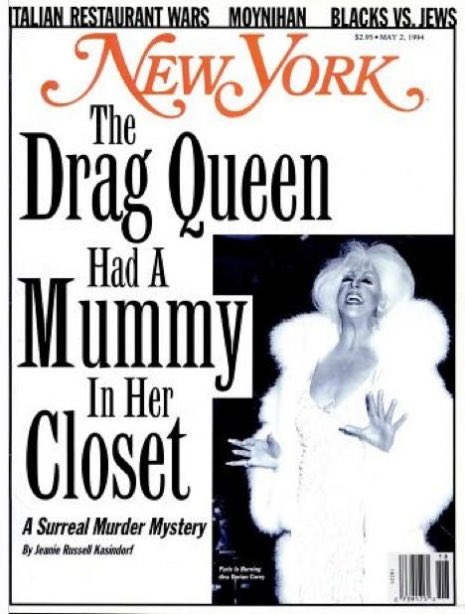 RT @triplec64: The story this episode is based on #POSEfx Dorian Corey: The Drag Queen Had a Mummy in Her Closet https://t.co/ISJUkCz2Br