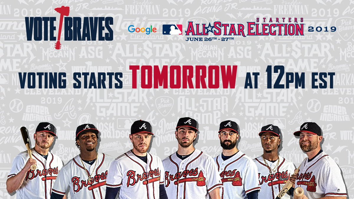 @Braves's photo on #VoteBraves