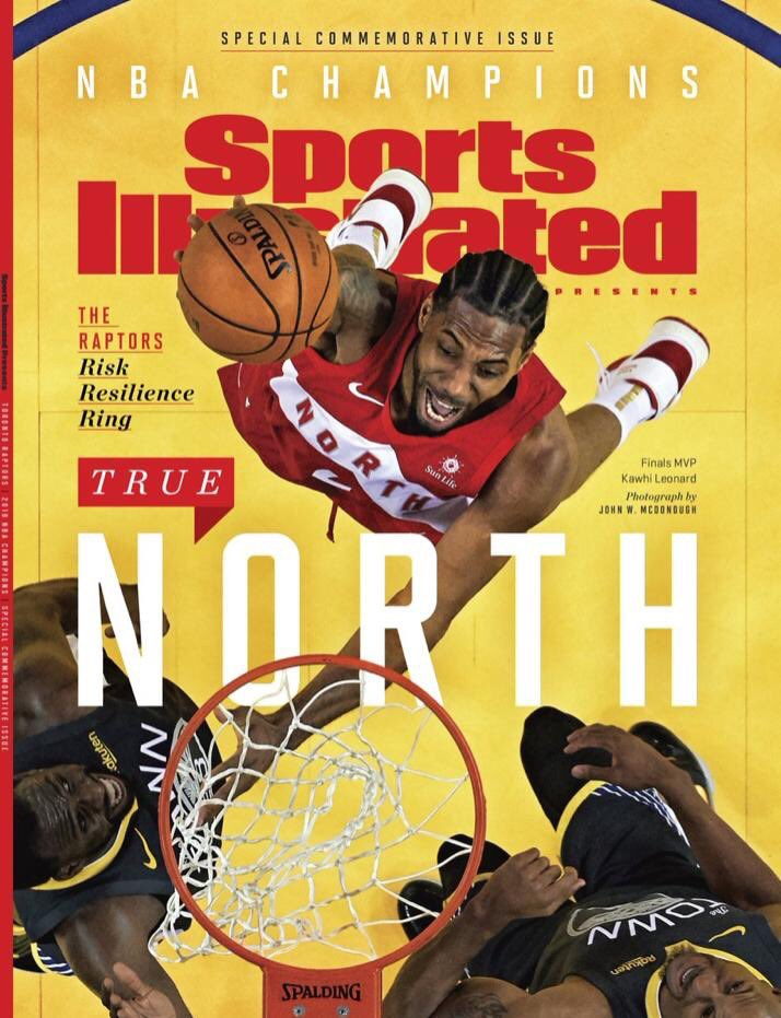 These Sports Illustrated covers🔥🔥 #WeTheNorth #Kawhi #KyleLowry🏆