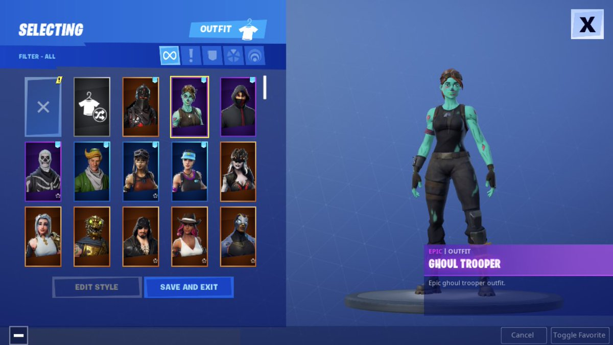 Selling my Ghoul, Renegade, Ikonic, Black Knight, Og Skull Trooper Account Offer bitcoin and cashapp only plz @DeniedDom @dimmed @humbies @lxyar @bapez @Cqmrrn as middlemanss dm me<br>http://pic.twitter.com/pHPX93u40C