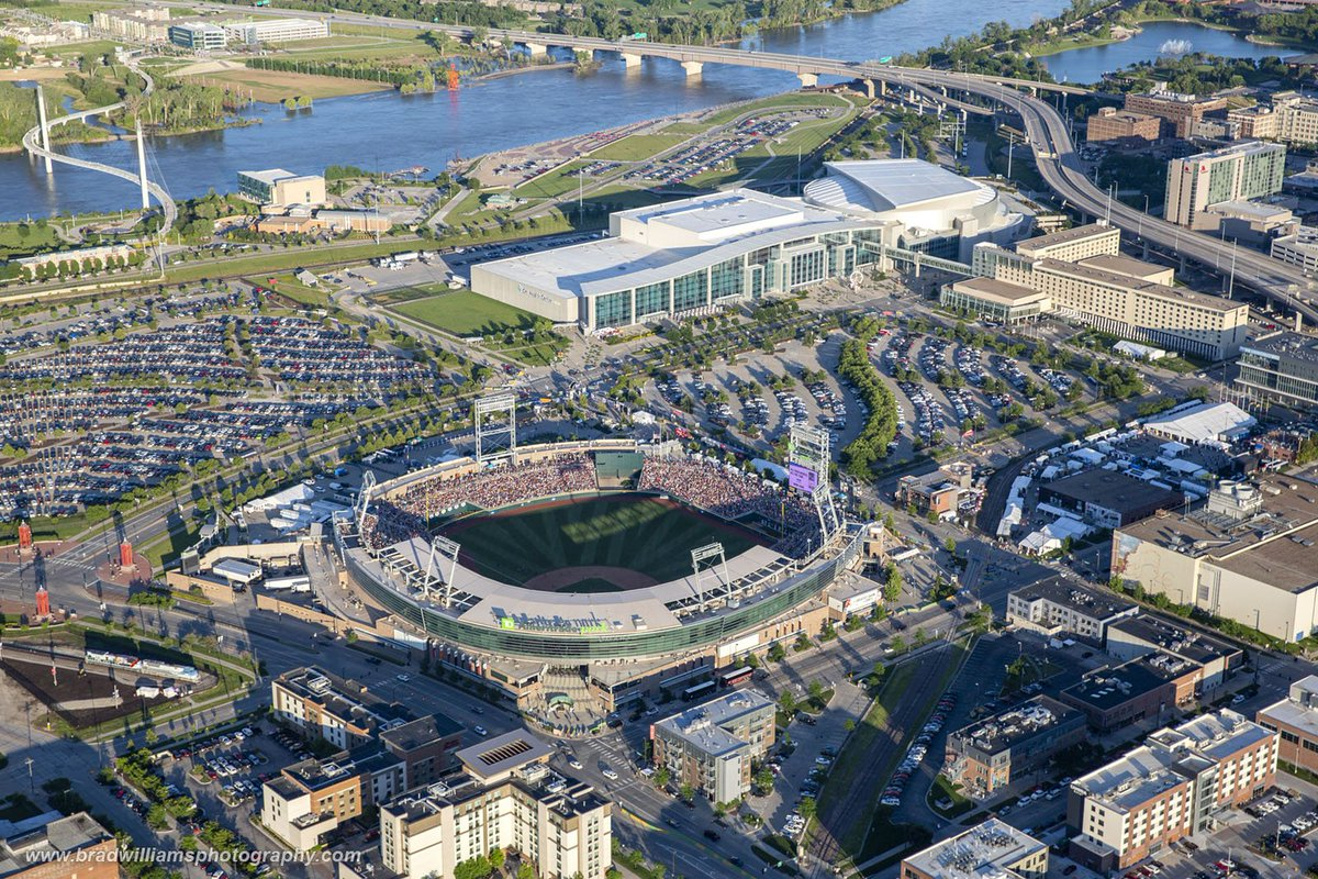 Here are a few more from Monday's #Aerial Photo Flight in the #Helicopter.  #Omaha!  #CWS  @whitebluereview  @tdameritradeprk @wedontcoast @OmahaChamber