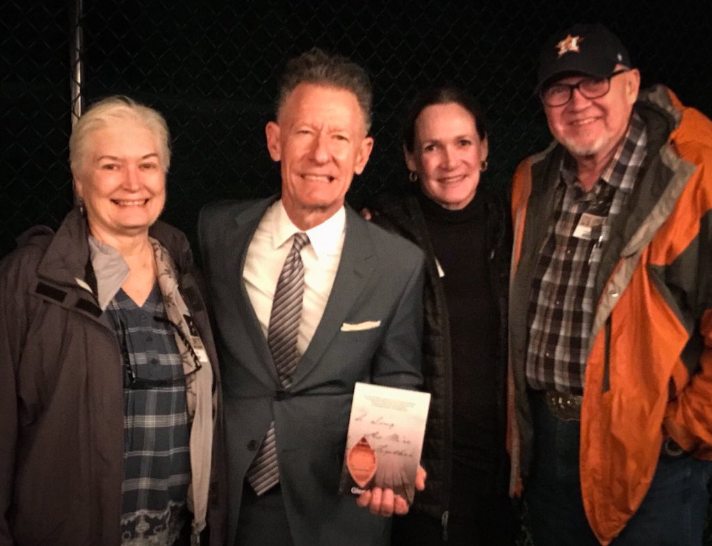 Best. Night. Ever. ♥️  Thank you @buds2tall and Kathi for our fun adventure, and a thousand thanks to @LyleLovett and His Large Band for a gorgeous night of music under the stars.