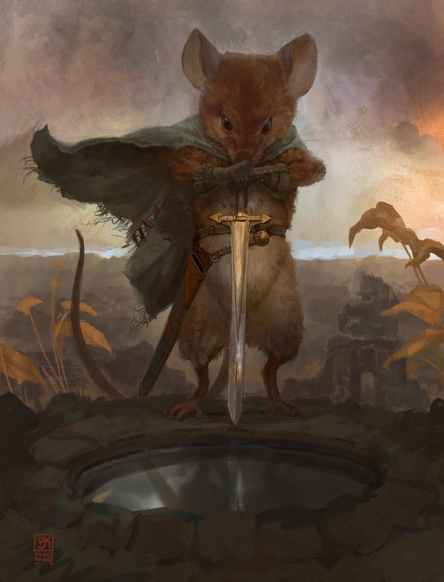 """RT @VanceKovacs: """"For The Fallen""""... a lament for the cancelled Mouse Guard.  @wesball #Mouseguard https://t.co/Ilh9BGUgc0"""