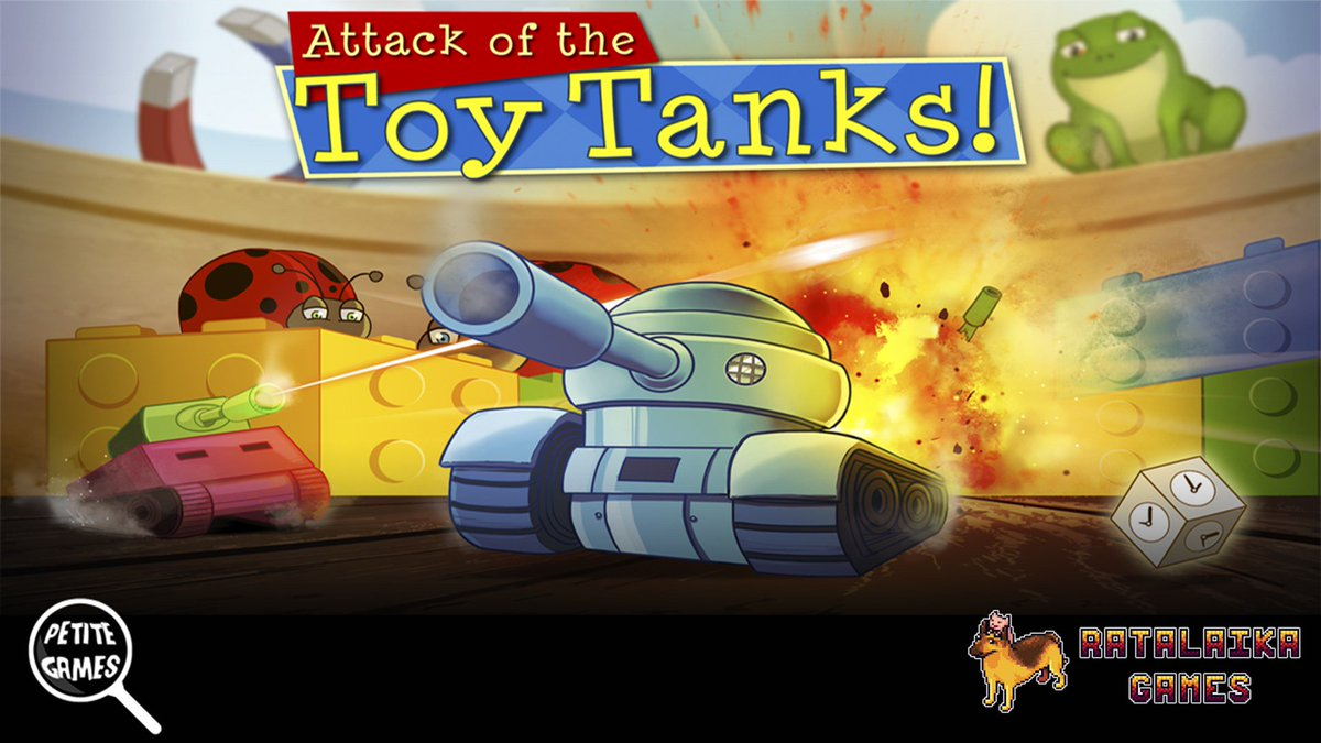 "Attack Of The Toy Tanks from <a href=""https://twitter.com/PetiteGames"" rel=""nofollow"" target=""_blank"" title=""PetiteGames"">@PetiteGames</a> and <a href=""https://twitter.com/RatalaikaGames"" rel=""nofollow"" target=""_blank"" title=""RatalaikaGames"">@RatalaikaGames</a> is now available for Xbox One <a href=""http://mjr.mn/9smFsfA"" rel=""nofollow"" target=""_blank"" title=""http://mjr.mn/9smFsfA"">mjr.mn/9smFsfA</a> https://t.co/4R9DUEoxVg."