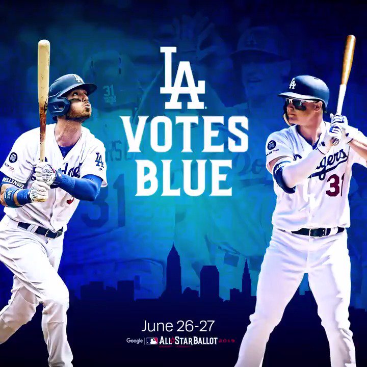@Dodgers's photo on #LAVotesBlue